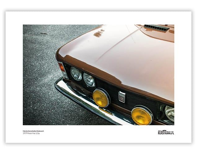 Plakat Fiat 125p