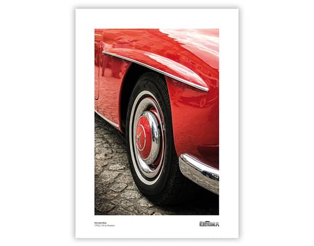 Plakat Mercedes 190SL