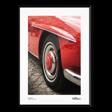 Mercedes-Benz 190SL Plakat
