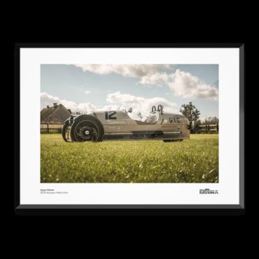 Plakat z samochodem Morgan 3-wheeler