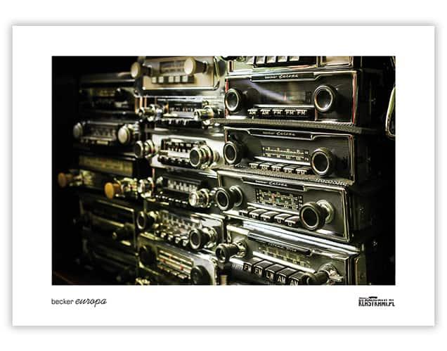 Plakat Becker Europa