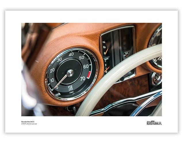 Plakat Mercedes W111