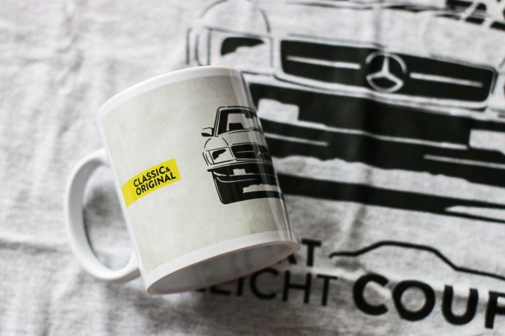 Kubek Mercedes C107 SLC