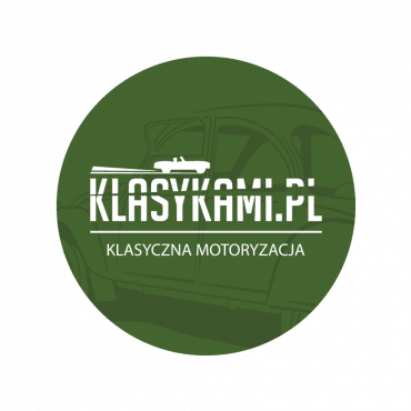 Klasykami klasyczna motoryzacja naklejka