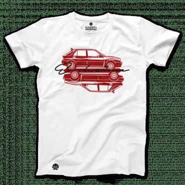 Koszulka z samochodem Lancia Delta Evoluzione