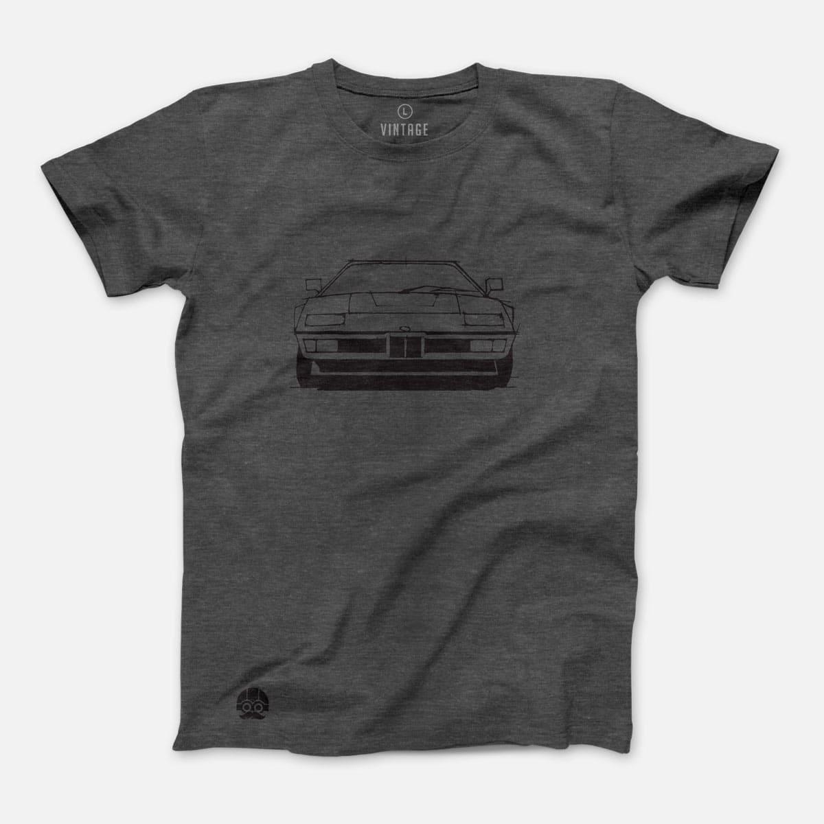 Koszulka z BMW M1 - Grey