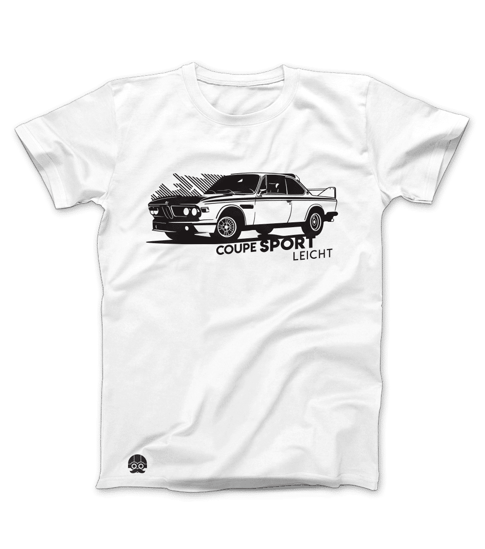 Koszulka z samochodem BMW 3.0CSL Batmobile