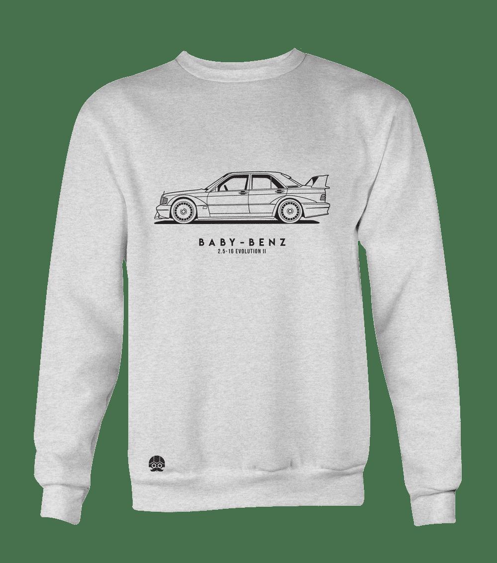 """Bluza z samochodem Mercedes-Benz W201 Evolution II 2.5-16 """"Baby Benz"""""""