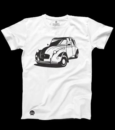 T-shirt z klasykiem Citroen 2CV