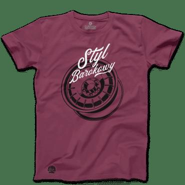 Koszulka Petrolhead Mercedes Styl barokowy