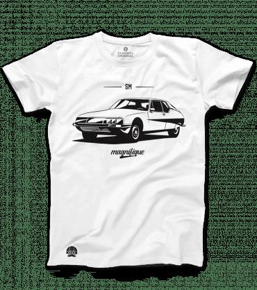 T-shirt z samochodem Citroen SM