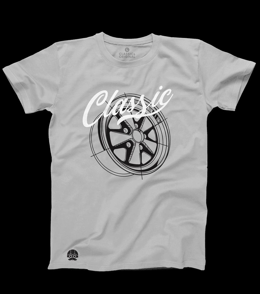 "Koszulka ""Classic Fuchs"" – Szary"