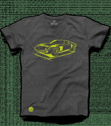 T-shirt Lamborghini Miura klasyka