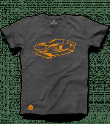 Koszulki z samochodami Lamborghini Miura