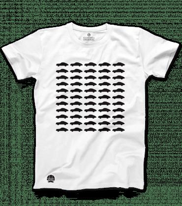 Koszulka Porsche 911 Biały T-shirt