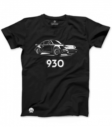 T-shirt motoryzacyjny Porsche 930 turbo
