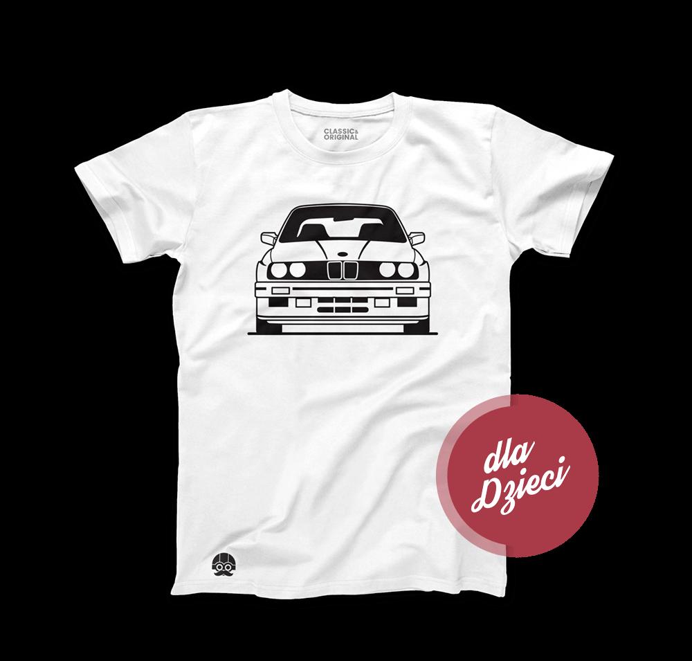Koszulka dziecięca z BMW E30 M3
