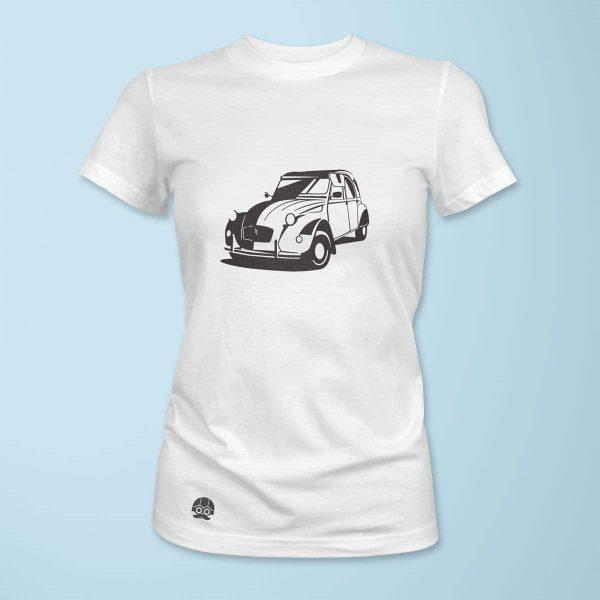 Koszulka damska z Citroenem 2CV
