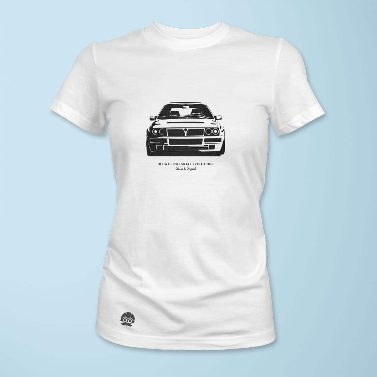 Koszulka damska z Lancia Delta Integrale Evoluzione