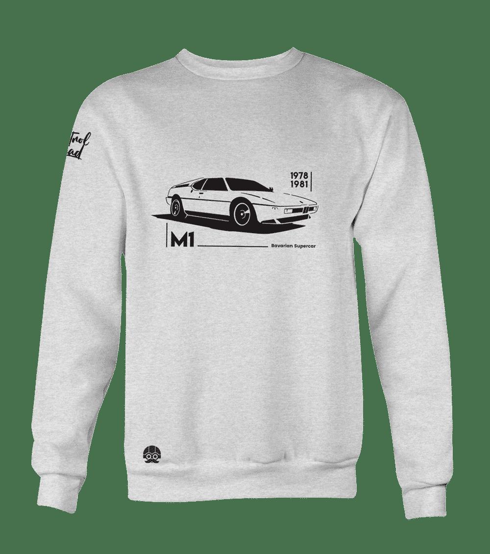 Odzież dla fanów motoryzacji bluza BMW M1