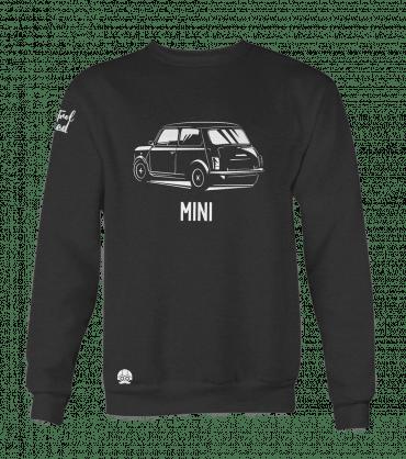 czarna bluza motoryzacyjna mini cooper