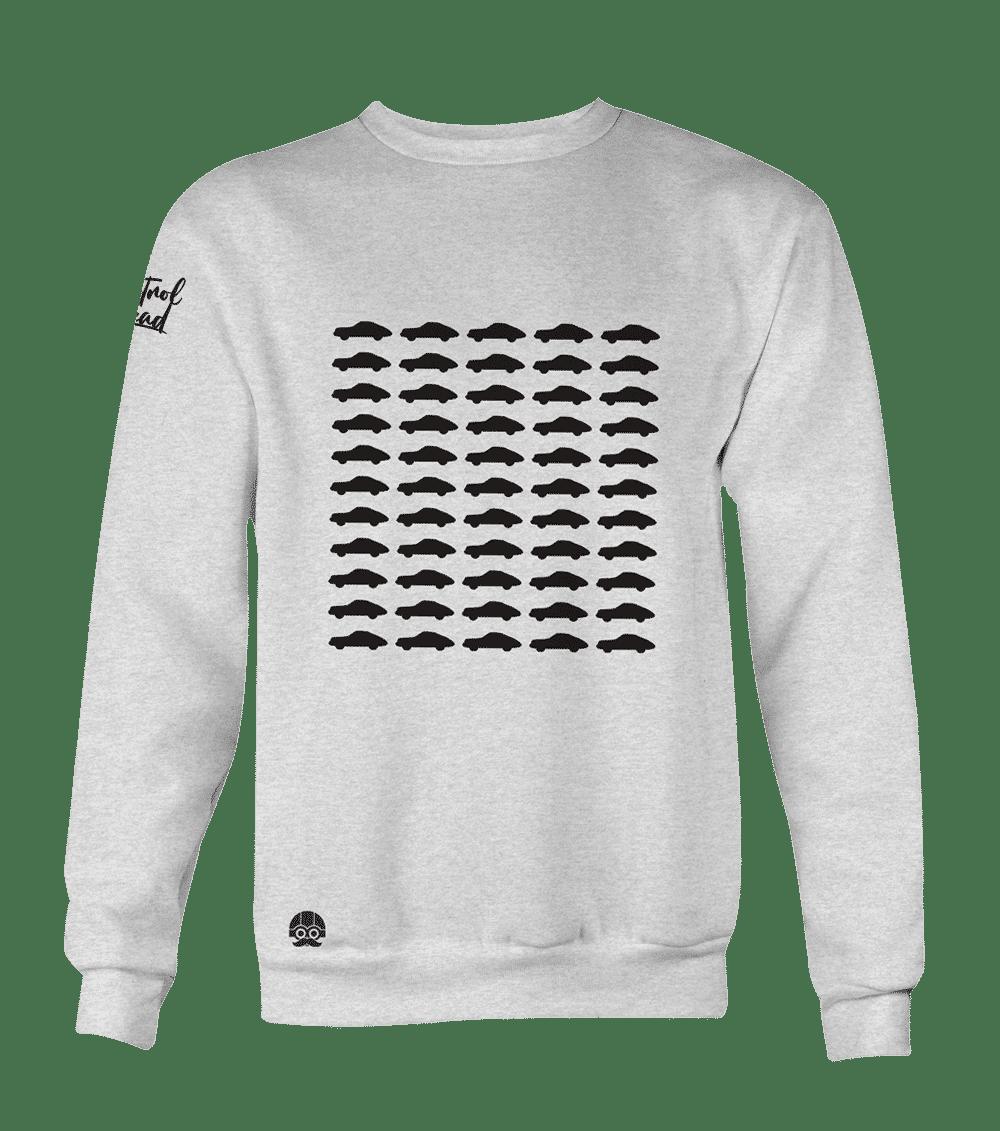 bluza bez kaptura klasyk porsche 911