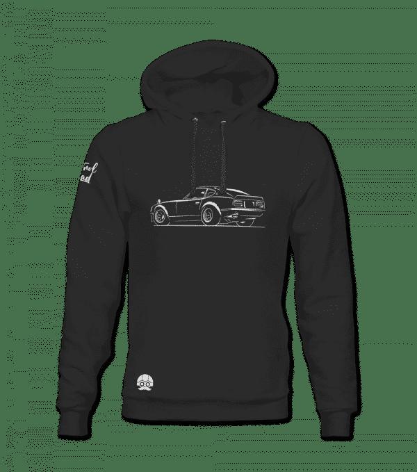 Czarna bluza motoryzacyjna DATSUN NISSAN 280Z