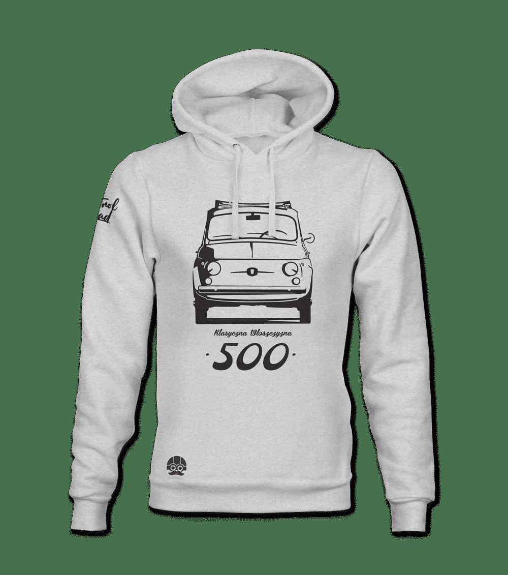 Bluza motoryzacyjna Fiat 500 Klasyczna Włoszczyzna