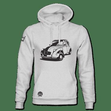 bluza z samochodem Citroen 2cv