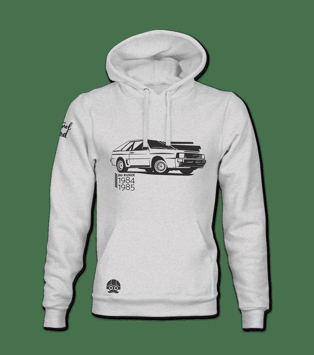 Bluza z samochodem Audi Quattro klasyczna motoryzacja