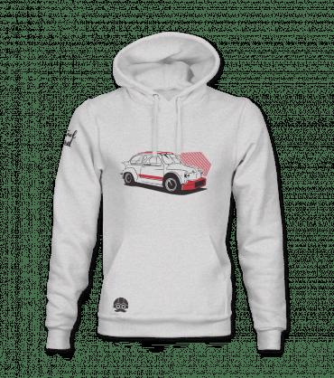 Bluza z samochodem Retro Abarth