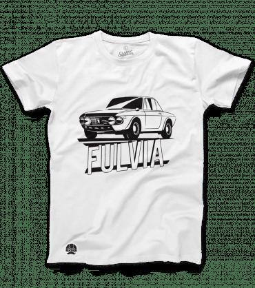 t-shirt dla fanów samochodów lancia fulvia