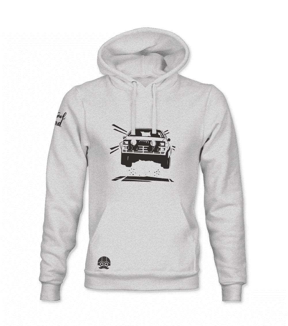 Bluza z kapturem rajdowe Audi motoryzacyjna