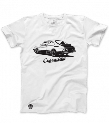 Koszulka z samochodem SAAB