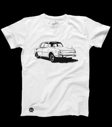 T-shirt z czeskim klasykiem SKODA S100