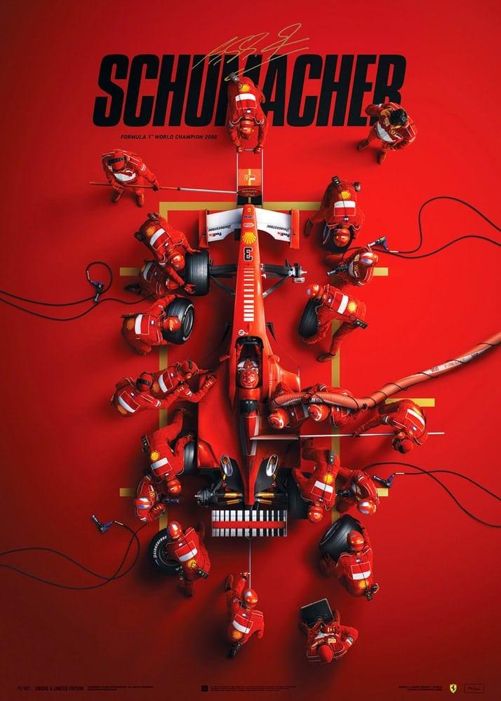 Ferrari F1-2000 – Michael Schumacher – Pit Stop | Collector's Edition