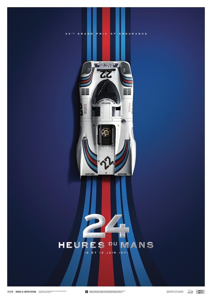 Porsche 917 – Martini – 24h Le Mans – 1971 | Collector's Edition