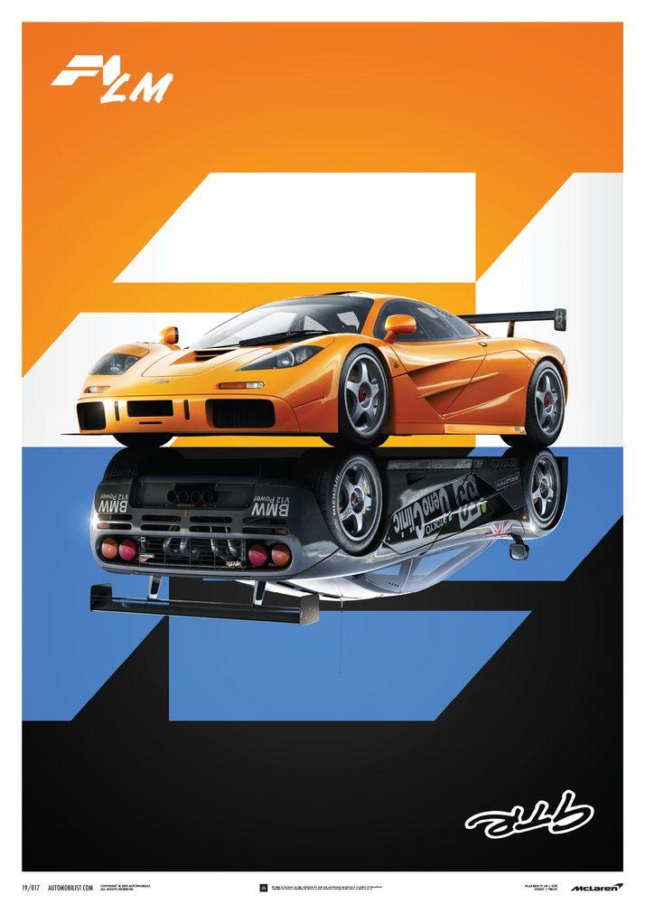 McLaren F1 LM / GTR – Poster