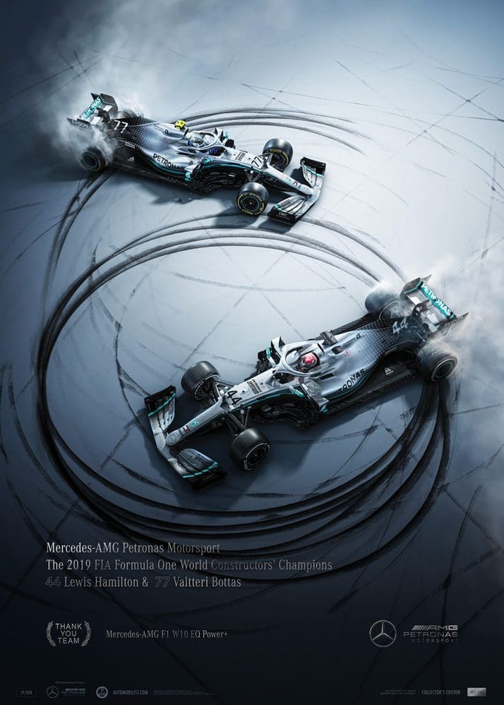 Mercedes-AMG Petronas Motorsport – 2019 – Donuts | Collector's Edition