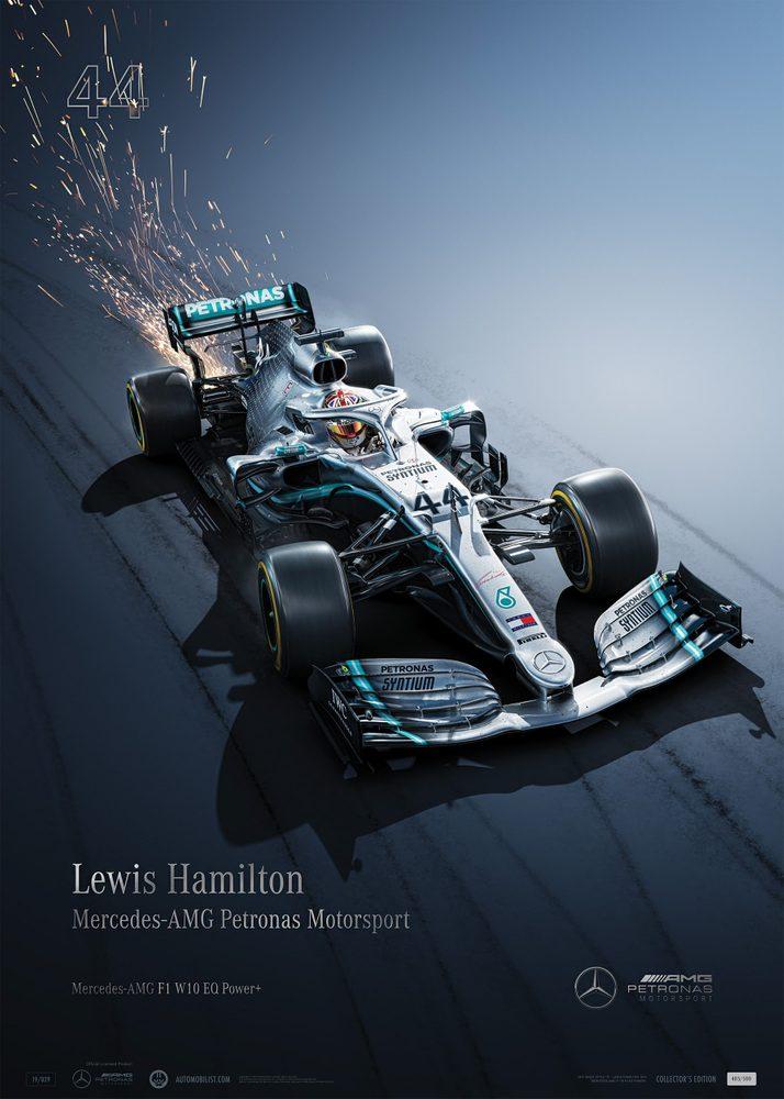 Mercedes-AMG Petronas Motorsport – 2019 – Lewis Hamilton   Collector's Edition