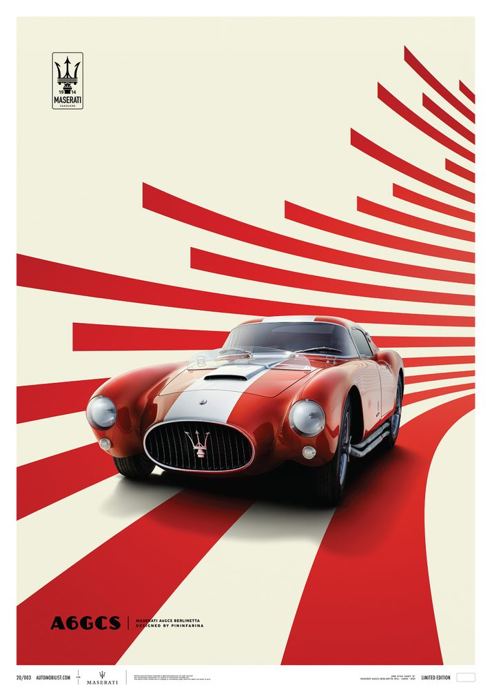 Maserati A6GCS Berlinetta 1954 – Red