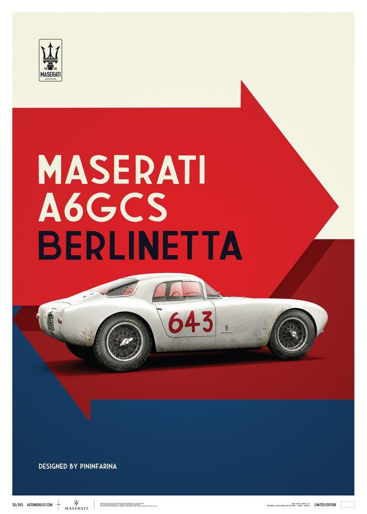 Maserati A6GCS Berlinetta 1954 – White