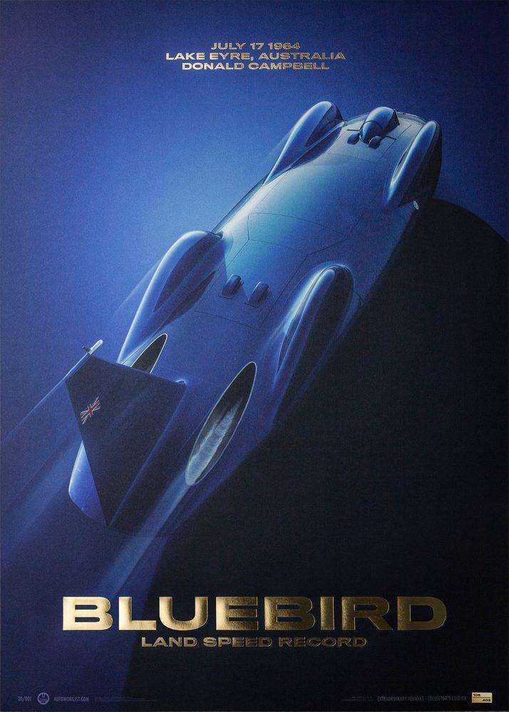 Bluebird – Donald Campbell – 1964   Collector's Edition