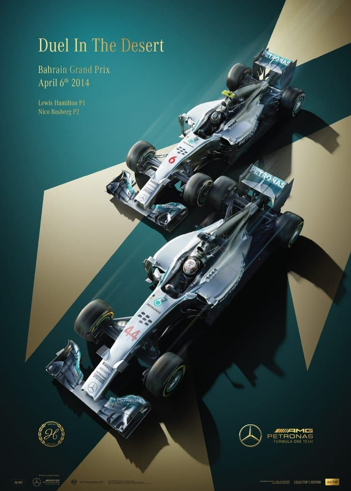 Mercedes-AMG Petronas Motorsport – 2014 – Duel In the Desert | Collector's Edition