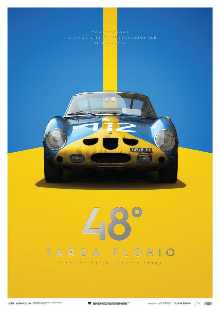 Ferrari 250 GTO – Blue – Targa Florio – 1964 – Collector's Edition