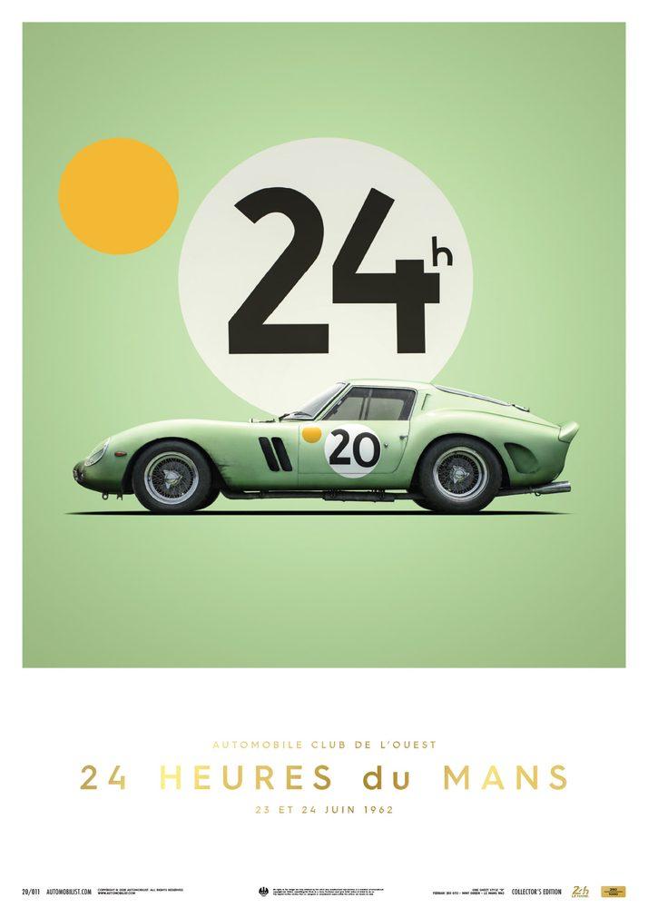 Ferrari 250 GTO – Green – 24h Le Mans – 1962 – Collector's Edition