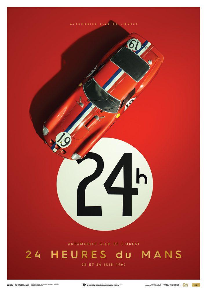 Ferrari 250 GTO – Red – 24h Le Mans – 1962 – Collector's Edition