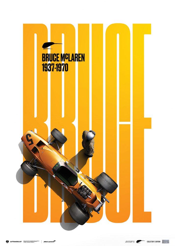 McLaren Papaya – Bruce McLaren special   Collector's Edition