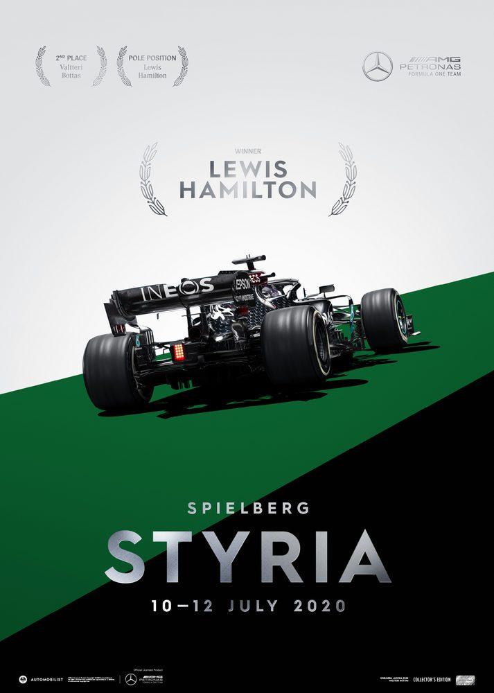Mercedes-AMG Petronas F1 Team – Styria 2020 – Lewis Hamilton   Collector's Edition