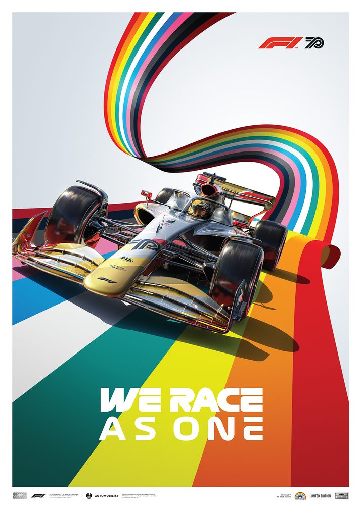 FORMULA 1® We Race As One   Fight against Covid-19 and Inequality   Limited Edition